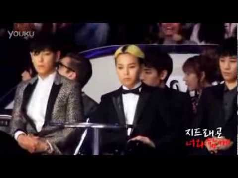131122 MAMA - Paris Hilton announced the winner- G DRAGON-FANCAM