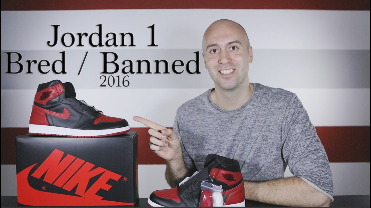 0a914dd8509db Air Jordan 1 Banned   Bred High OG - Unboxing + Review + On Feet - Close Up  - Mr Stoltz 2016