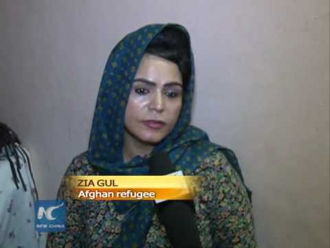 Afghan widows make a living in India