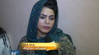 Afghan widows make a living in India