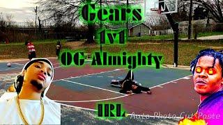 IRL 1v1 Basketball VS 100K OG Almighty ! SHOOTER Vs DRIBBLE GOD ! **INTENSE GAME**
