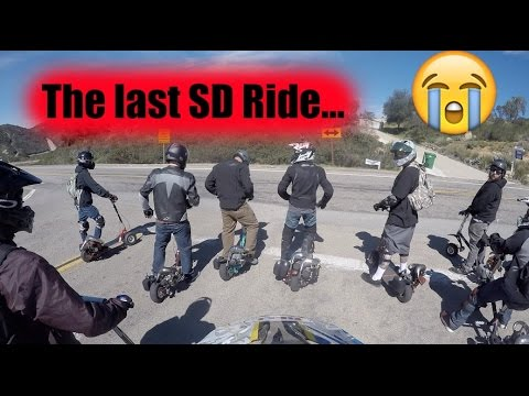 GoPed San Diego Ride 2017