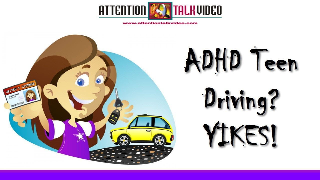 Driving With Adhd >> Adhd Tips Teen Driving Youtube