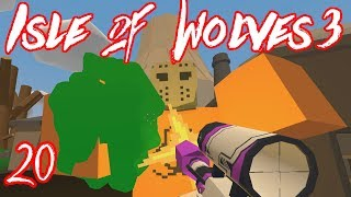 """""""DEADZONE Mega Zombie and Awesome Loot!!"""" -- UNTURNED Isle of Wolves 3 (Custom Map Gameplay)"""