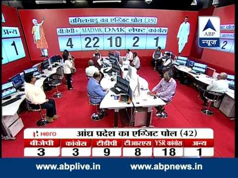 TAMIL NADU EXIT POLL:  BJP 4+, AIADMK 22, DMK 10, LEFT 2, CONGRESS 1 Mp3