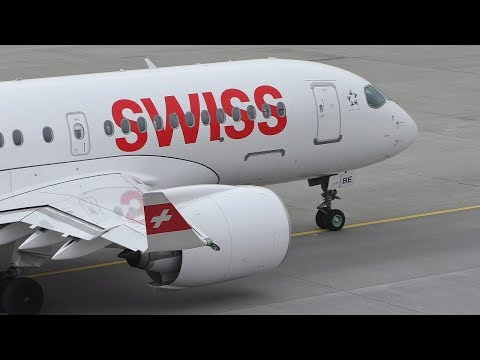 Plane Spotting at Zurich Airport | Runway 28 & Apron Action | 777 A340s A330s RJ100s & More