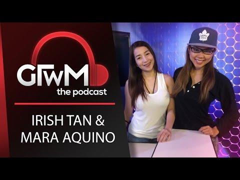 GTWM S05E055 - Irish Tan shows her nipples!