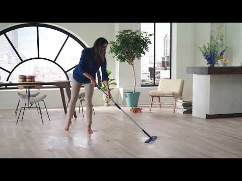 Quick Clean Wood Floors with Bona Wet Clean Pads
