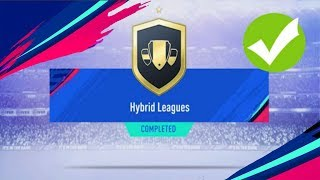 Hybrid Leagues SBC Completed - Cheapest Possible - Fifa 19