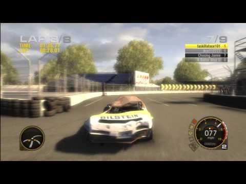 Race Driver: GRID,Stock Car, Xbox 360 Online Race. The Pancake Car.