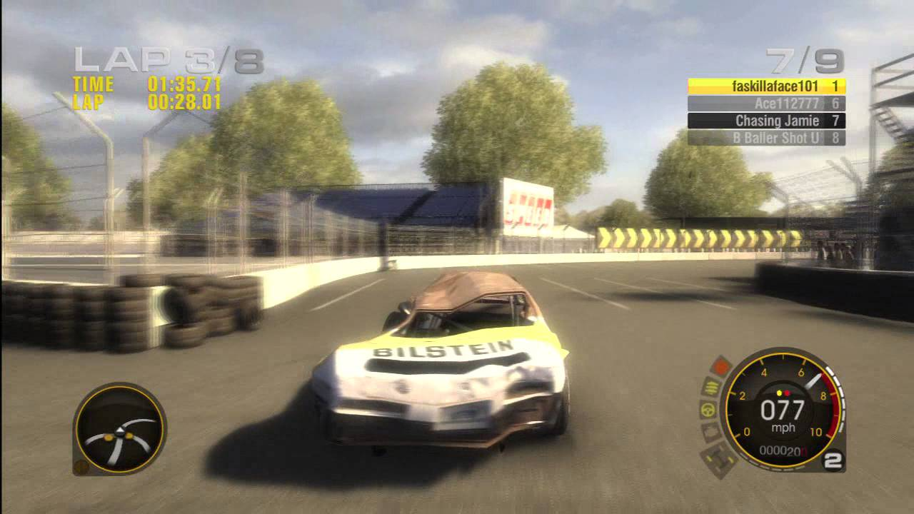 Race driver grid stock car xbox 360 online race the pancake car youtube