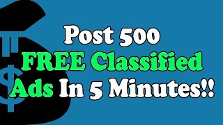 Free Classifieds Sites