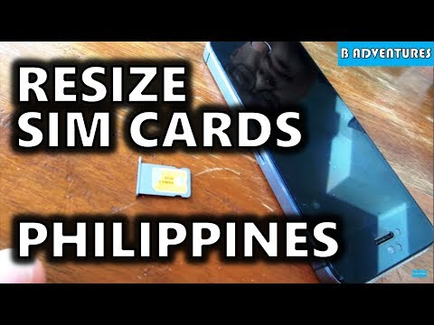Micro to Nano SIM Card & Phone Contracts, Angeles City, Philippines S3, Travel Vlog #41