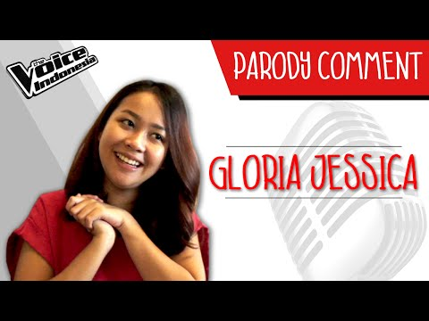 Parodi Comment - Gloria Jessica | The Voice Indonesia 2016