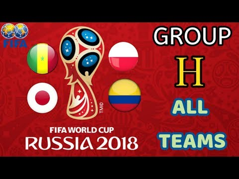 FIFA World Cup 2018 || All Teams of Group H || Poland || Senegal || Colombia || Japan || Top 5 List