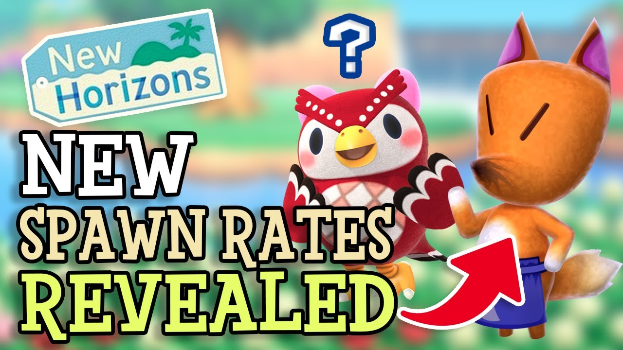 Animal Crossing New Horizons UPDATED SPAWN RATES for Special Characters REVEALED (Summer Update 1.3)
