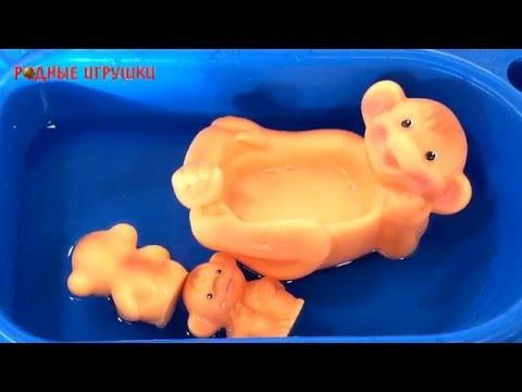 Резиновые игрушки для ванной Обезьянки Артикул С 796