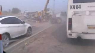 Авария.У трактора вырвало переднюю балку.
