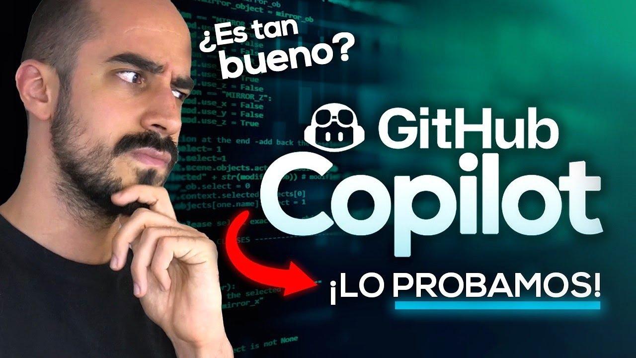 ¡PROBAMOS a GITHUB COPILOT...! ¿ES TAN BUENO? | Programación en Python, Desarrollo Web...