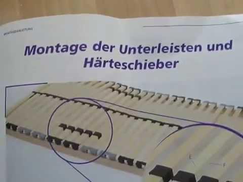 Lattenrost Montage Youtube