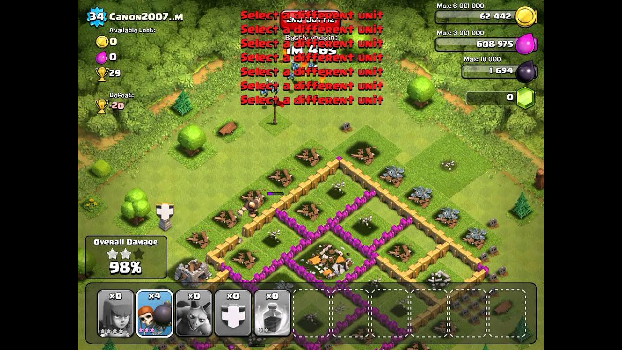 clash of clans,dark barracks (minions attack) - YouTube