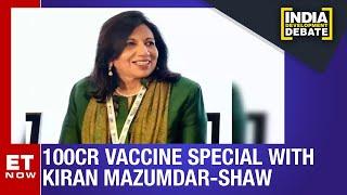 #100crvaccines Spl with Kiran Mazumdar-Shaw | India Development Debate