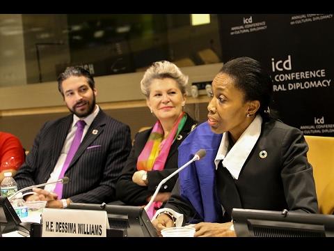 Dessima Williams (Former Ambassador of Grenada to the United Nations)