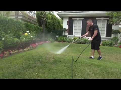 Treating Lawns, Gardens and Patios with Nature-Cide