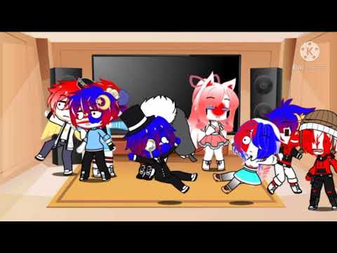 CountryHumans Reacts To Tik Tok (Again)[] No Thumbnail Lol {read The Desc Before Watching}