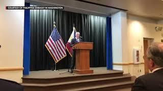 US defense secretary announces return of Balangiga Bells