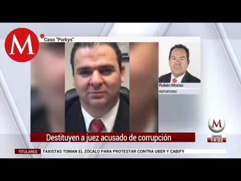 Por corrupción, destituyen a juez que dio amparos a 'Los Porkys'