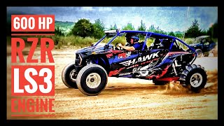 "LS3 RZR ""NEVER ENOUGH"" Built by Hawk Engineering 