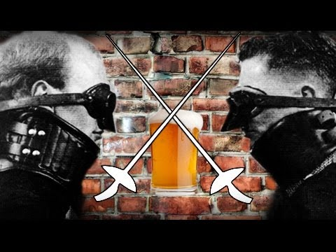 Beer, Fraternity, And Academic Fencing