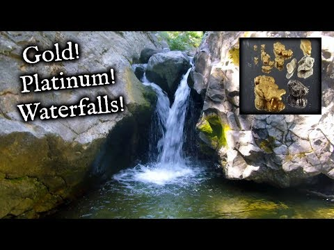 Check It Out!  Waterfalls, Platinum And Gold Found!
