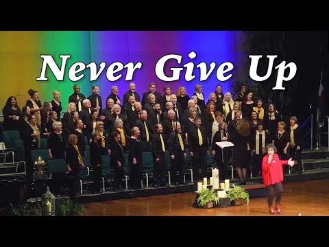 New Thought Music: NEVER GIVE UP by Sia from the movie LION - Mile Hi Choir