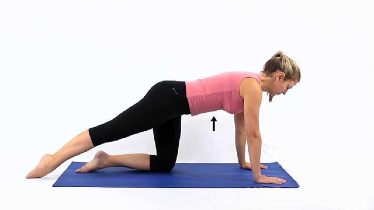 Pilates Table Top In Four Point Stance Youtube