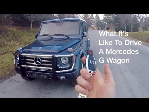 What It's Like To Drive A '15 Mercedes G550