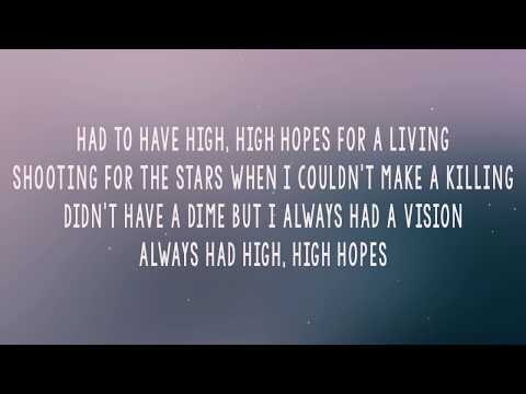 Panic At The Disco High Hopes (Lyrics/Lyrics Video) (With Audio)