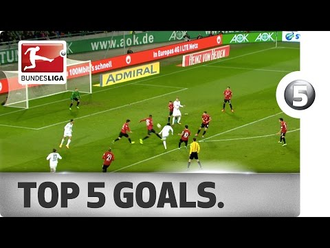 Top 5 Goals from Matchday 12 - Vote for your Goal of the Week