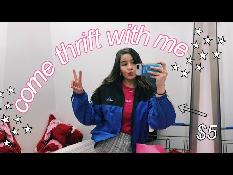COME THRIFT WITH ME 2019