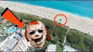 HUNTING KILLER CLOWNS WITH A DRONE! (PART 3)