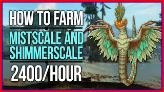 BFA SKINNING | Shimmerscale and Mistscale Farming