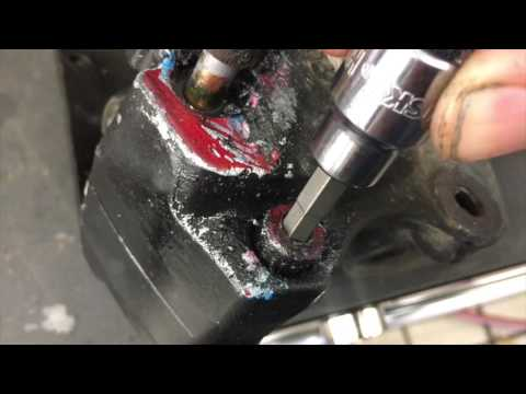 Stripped Allen bolt removal method. How to remove stripped out Allen Bolts