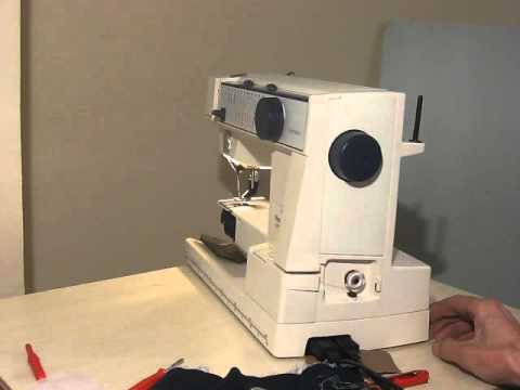 Husqvarna Optima 40 Nähmaschine Sewing Machine Швейная машина Test Gorgeous Husqvarna 610 Sewing Machine