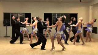 RicaSensacion @ Symbolic Dance & Fitness, Pre SF Salsa Congress Party 2010