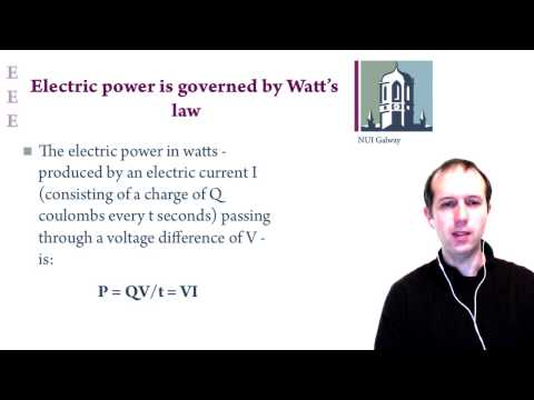 Lecture 6: Batteries, power