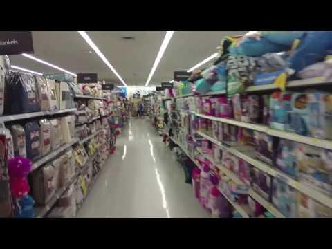 Shopping Inside Walmart - Pocatello, Idaho