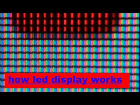 how led display works