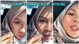 Gadis Tudung Satin Projek Live Dalam Kereta 🔥🔥🔥 #Satin #Tudung #Hijab #Live #Big