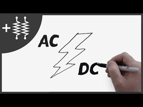 Difference between AC and DC Current Explained | AddOhms #5